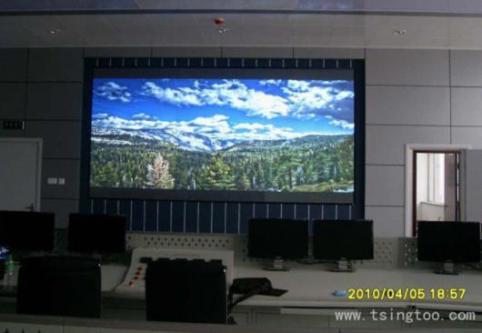 清投视讯dlp拼接大屏幕应用于成都飞机设计研究所