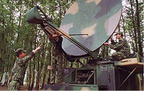 野战卫星通信电台架设