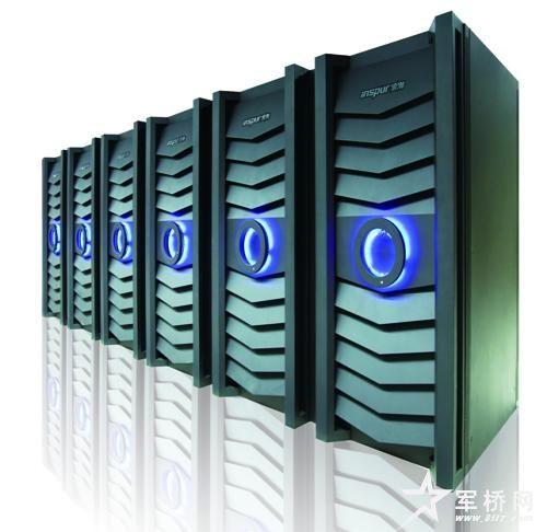中国首款高端海量存储系统浪潮AS10000
