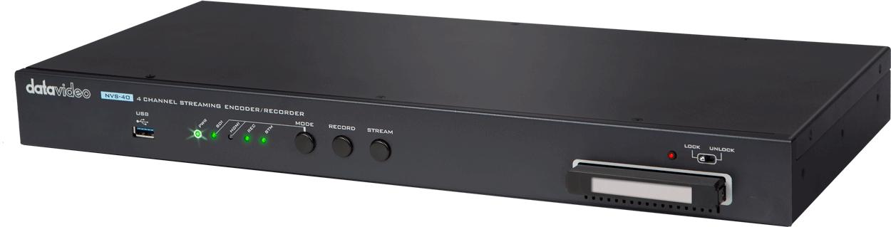【新品首发】洋铭NVS-40 4路网络直播录像编码器