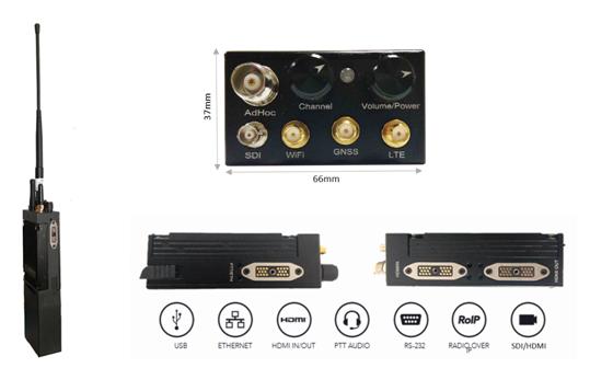 MMCU多网融合无线音视频通信系统