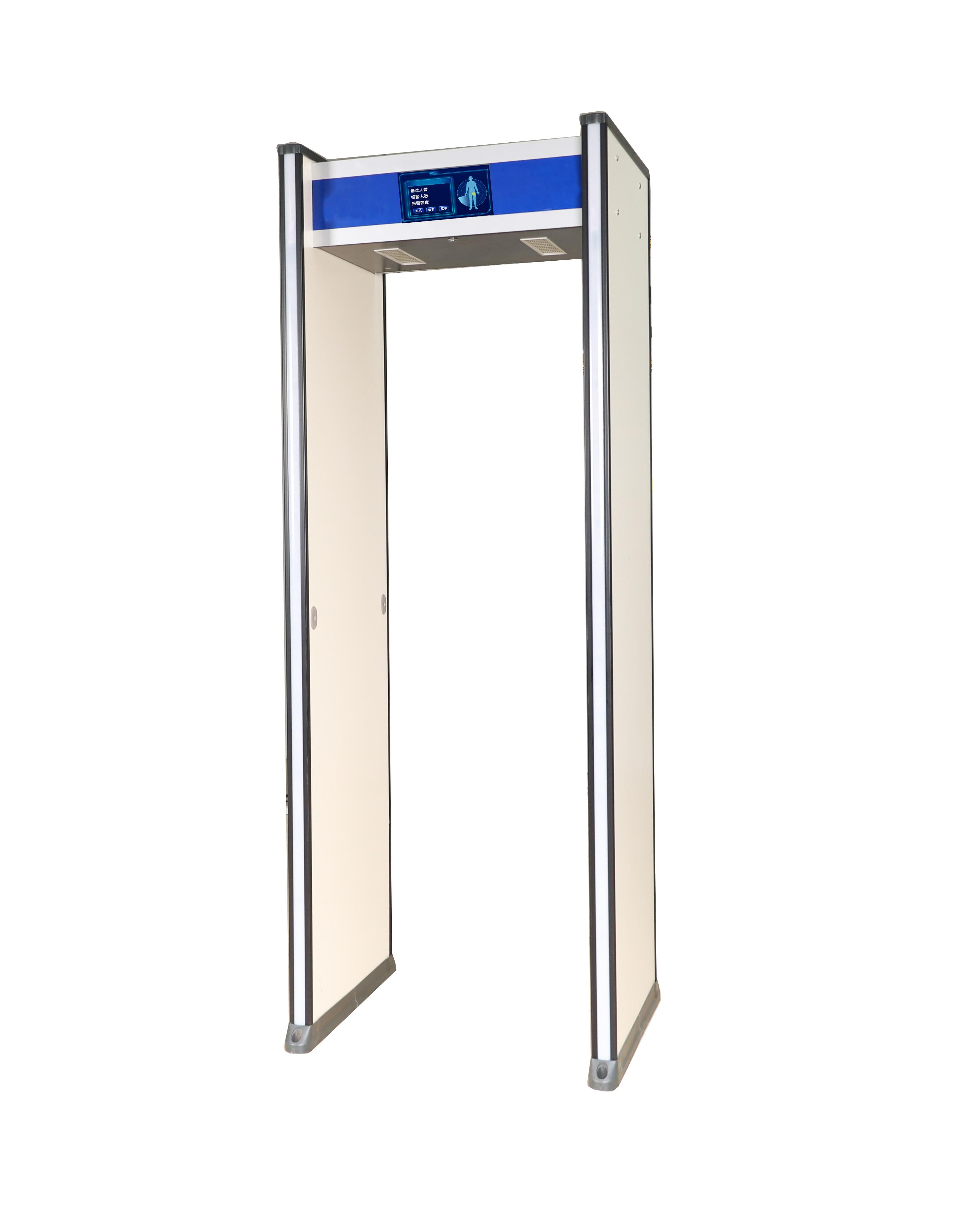 测温式金属安检门