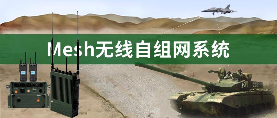 Mesh无线自组网多媒体宽带传输系统